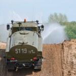 Ural 43206 yağmurlama kamyon — Stok fotoğraf