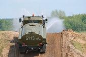 URAL-43206 sprinkler truck — Stock Photo