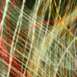Stock Photo: Chaotic urban lights