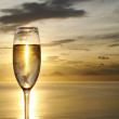 Glass of champagne — Stock Photo #11736180