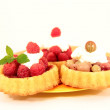 Berry tartlets - Stock Photo