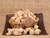 杖砂糖キューブ — ストック写真