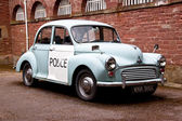 Morris minor 1000 police car — Stock Photo