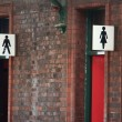 Stock Photo: Toilet signs