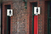 Toilet signs — Stock Photo
