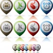 Royalty-Free Stock Photo: Misc Internet Icons