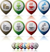 Misc Internet Icons — ストック写真