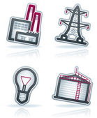 Industry Icons — Foto de Stock