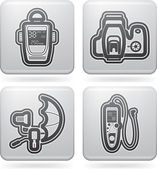 Photography Icons Set — Stok fotoğraf