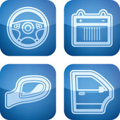 Parti di automobili — Foto Stock