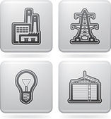 Industrie pictogrammen — Stockfoto