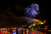 Rhein en flammen — Foto de Stock