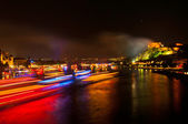 Rhein in Flammen — Stock Photo