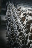 Terracotta Army Xian / Xi'an, China - group photo — Stock Photo