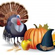 Thanksgiving — Stockvectorbeeld