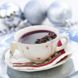 Mulled wine for Christmas — 图库照片
