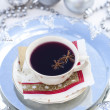Mulled wine for Christmas — Stock Photo