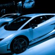 Stock Photo: Lamborghini Gallardo LP 570-4 Superleggersport car on display