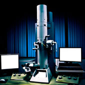 Electron microscope — Stock Photo