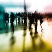 Staden business abstrakt bakgrund — Stockfoto