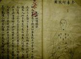 Chinese old medical book — Stock Photo