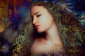 Fantasy woman — Stock Photo