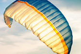 Paraglider on sky — Stock Photo