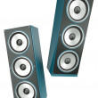 Two speakers — Stock Photo