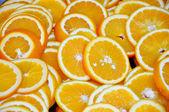 Juicy Orange Slices — Stock Photo