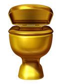 トイレの便座 — ストック写真