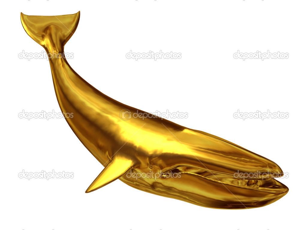 Gilded whale — Stock Photo #11531766