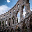 Pula -amphiteatre - Stock Photo