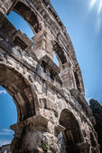 Pula -amphiteatre — Stock Photo