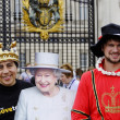 Queen&amp;#039;s diamond Jubilee - Foto de Stock  