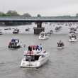 The Thames Diamond Jubilee Pageant — Stock Photo #10947666