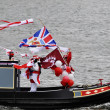 Royalty-Free Stock Photo: The Thames Diamond Jubilee Pageant