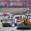 Stock Photo: The Thames Diamond Jubilee Pageant