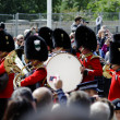 trooping the colour — Stock Photo