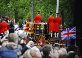 Trooping the Colour — Foto de Stock