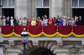 色、ロンドン 2012 trooping れる — ストック写真
