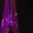 Light and laser show for the Shard opening — Stock Photo #11515943