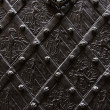 Wrought iron background - Stock Photo