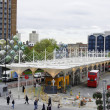 Stratford bus station - Stock Photo