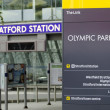 Stock Photo: Stratford Station