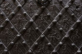 Wrought iron background — Stock Photo