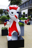 Mandeville mascot — Stock Photo