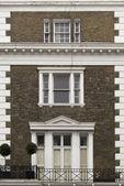 Building facade in London — Stock Photo