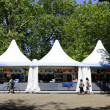 Monday July 23, 2012:  An official London 2012 shop in Hyde Park — Photo