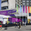 Monday July 23, 2012: Four days to London 2012 Olympic Games — Stock Photo