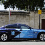 Monday July 23, 2012: London 2012 BMW 5 series — Stock Photo